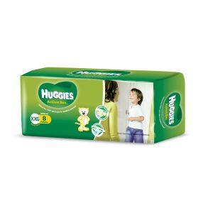 Pañal Huggies Verde Talle XXG
