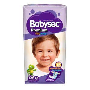 Pañal Babysec Premium Talle XXG