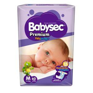 Pañal Babysec Premium Talle Mediano