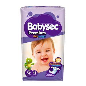 Pañal Babysec Premium Talle Grande