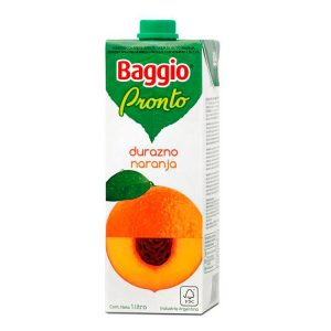 Jugo Baggio Durazno - Naranja
