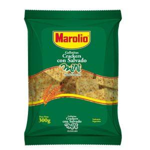 Galletitas Mini Crackers Salvado