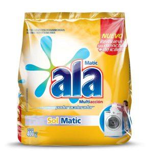 Jabón en Polvo Ala Matic Sol