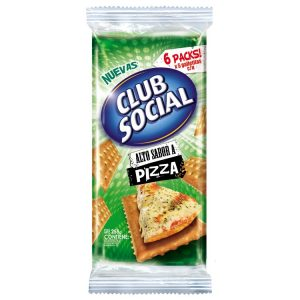 Galletitas Club Social Sabor Pizza
