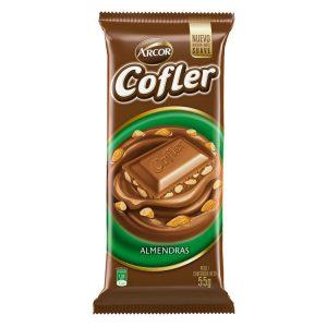 Chocolate Cofler Leche con Almendras