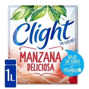 Jugo En Polvo Clight Manzana Deliciosa