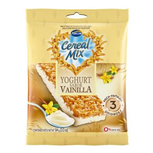 Barra Cereal Mix Yogurt  Vainilla