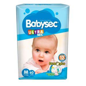 Pañal Babysec Ultrasec Talle Mediano