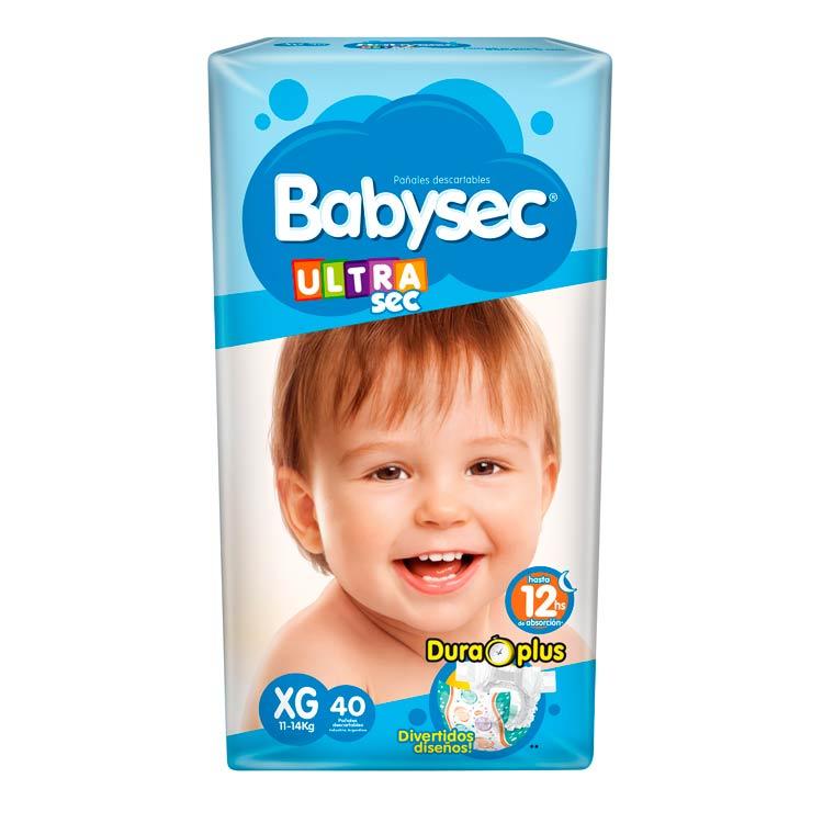 Pañal Babysec Ultrasec Talle XG
