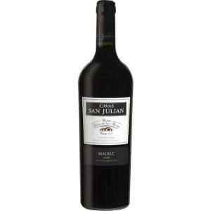 Vino Cavas San Julián Malbec