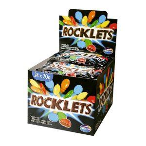 Chocolate Rocklets Confitados