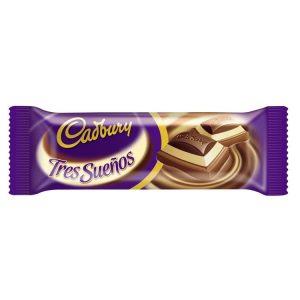 Chocolate Cadbury Tres Sueños