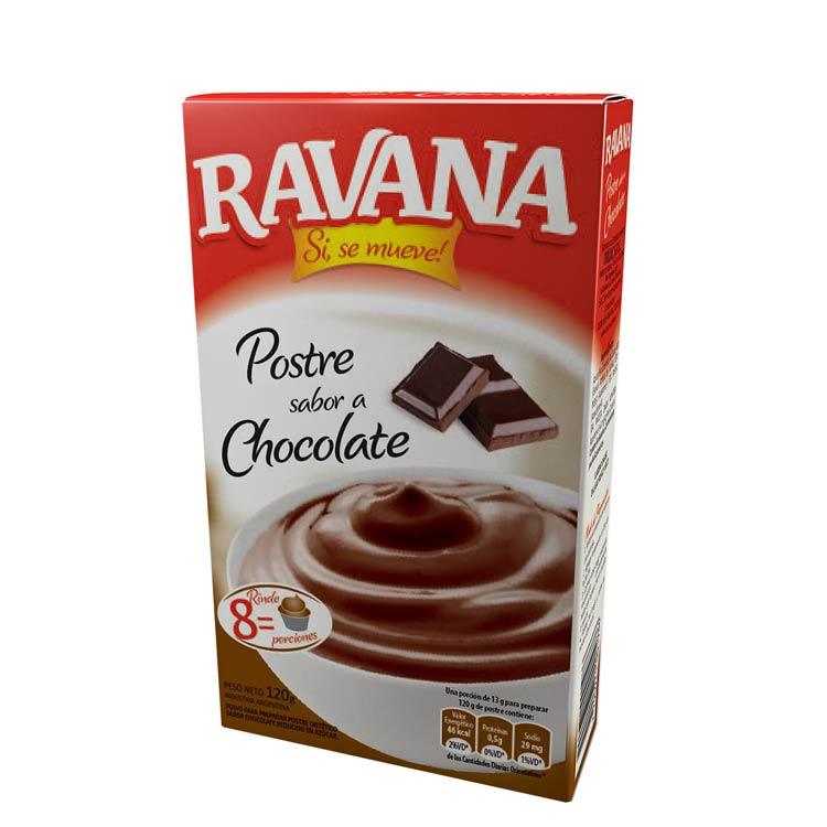 Postre Sabor Chocolate