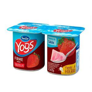 Yogur Sancor Yogs Firme Frutilla