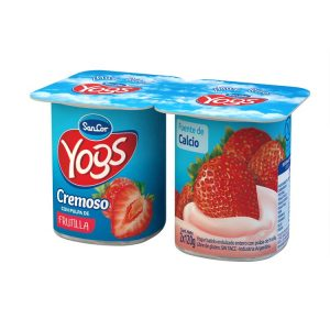 Yogur Sancor Yogs Entero Con Frutillas