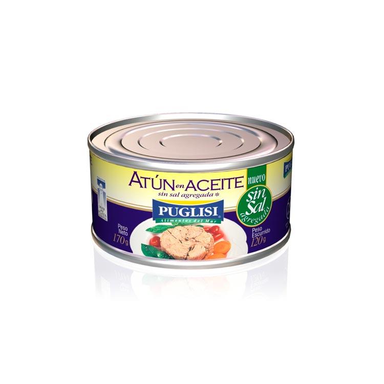 Atún en Aceite sin Sal