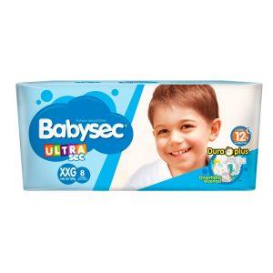 Pañal Babysec Ultrasec Talle XXG