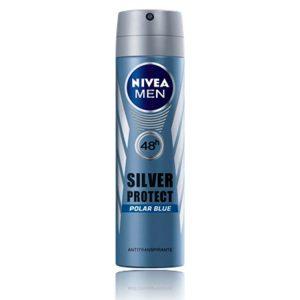 Antitranspirante Masculino Nivea Silver Blue