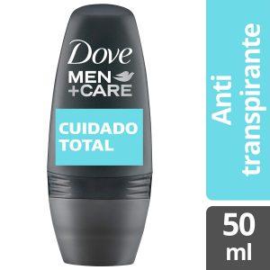 Antitranspirante Masculino Dove Roll On Cuidado Total