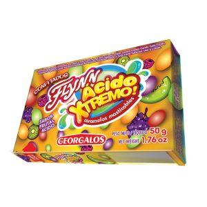 Caramelos  Flyn Paff Acido Extremo