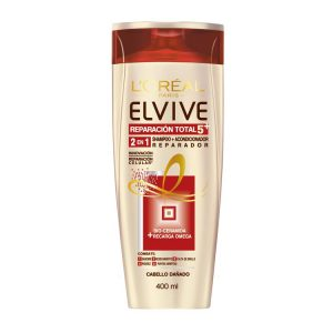 Shampoo Elvive 2 En1 Reparación Total