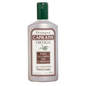 Shampoo Capilatis Ortiga con Capuchina para la Caspa