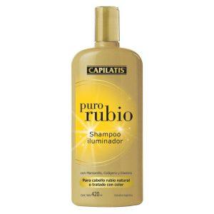 Shampoo Capilatis Iluminación Rubio