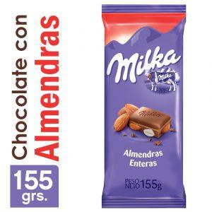 Chocolate Milka Almendra