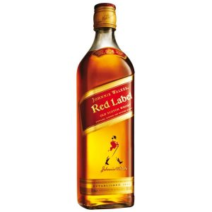 Whisky Johnny Walker Estacionado Etiqueta Roja