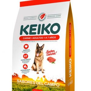 Alimento para Animales Keiko Sabor Carne