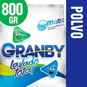 Jabón en Polvo Granby Matic