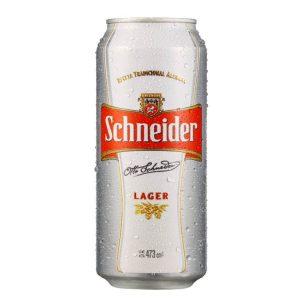 Cerveza Schneider Lata