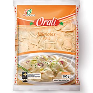 Ravioles Orali Pollo