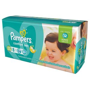 Pañal Pampers Confort Sec Talle XXG