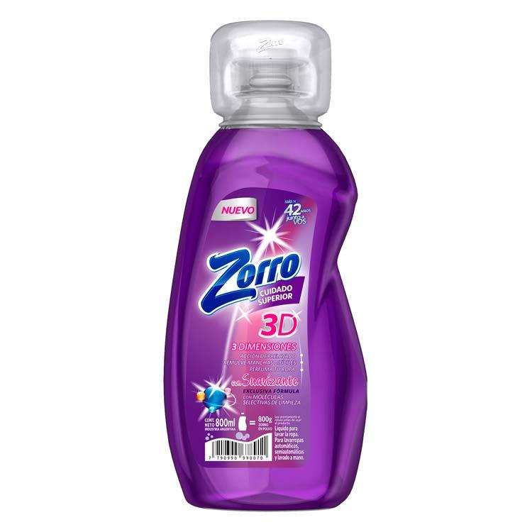 Jabón Líquido Zorro Plus