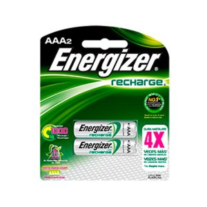 Pilas Energizer Aaa Re.Nh12