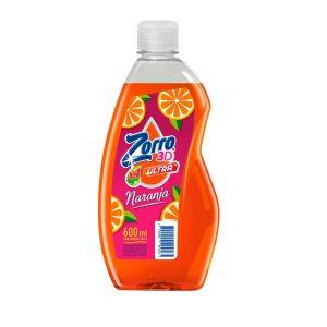 Detergente Aroma Naranja y Jengibre