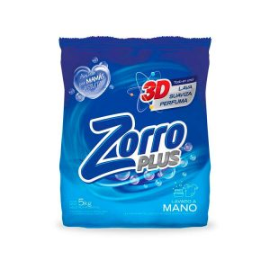 Jabón en Polvo Zorro Regular