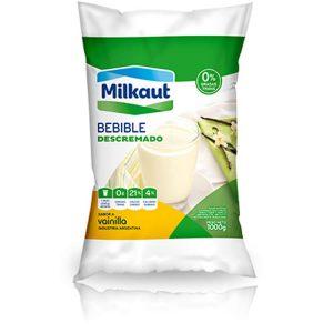 Yogur Milkaut Descremado Sachet Vainilla