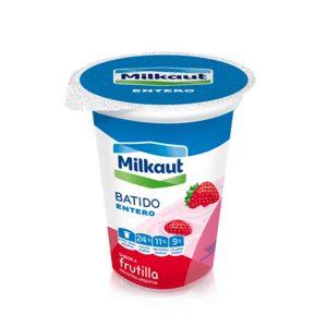 Yogur Milkaut Entero Frutilla