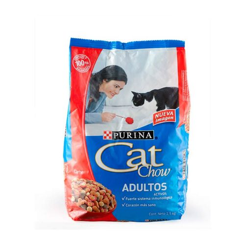 Alimento para Animales Cat Chow Adulto Carne