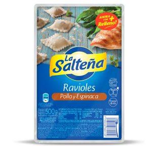 Ravioles La Salteña Pollo Y Verdura