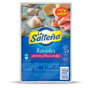 Ravioles La Salteña Jamón Y Muzzarella