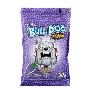 Pastillas Bull Dog Uva