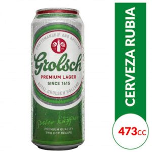 Cerveza Grolsch Lata