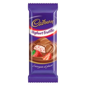 Chocolate Cadbury Yoghurt Frutilla