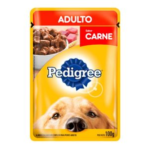 Alimento para Animales Pedigree Pouch Carne Adultos
