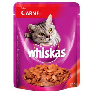 Alimento para Animales Whiskas Pouch Carne