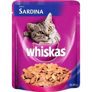 Alimento para Animales Whiskas Pouch Sardina