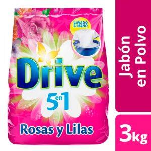 Jabón en Polvo Drive Rosas y Lilas